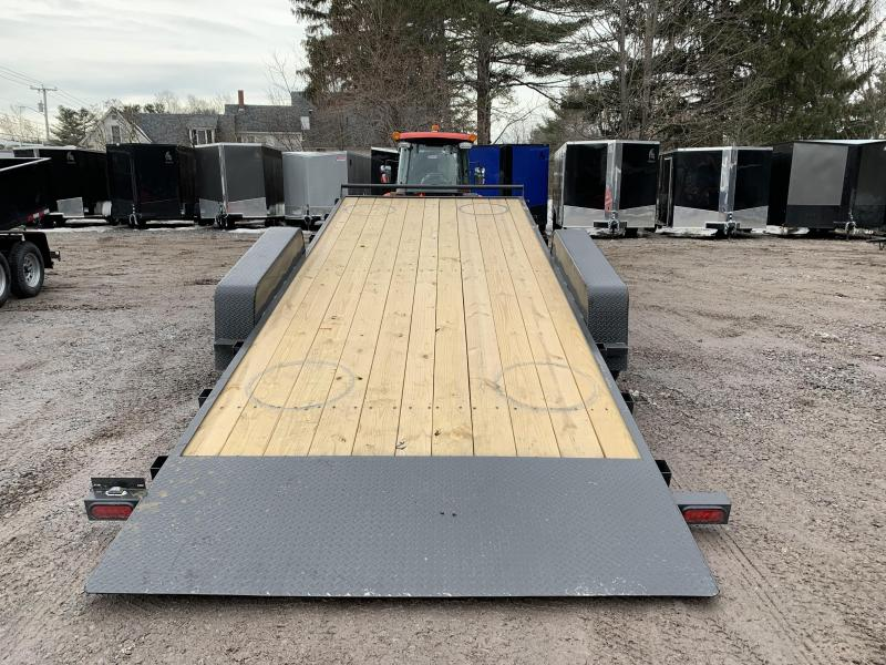 2020 D2E 7x20 Gravity tilt 14000 gvwr trailer/dexter axles