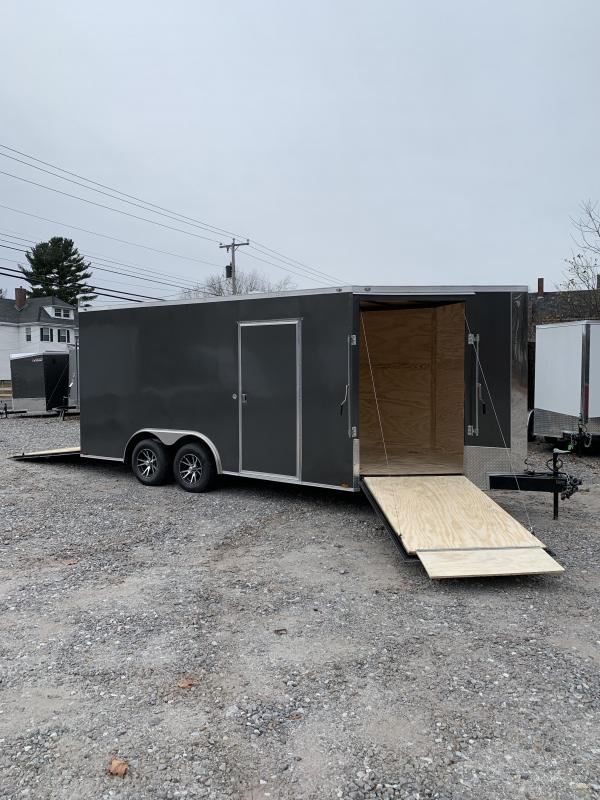 """2020 Spartan 8.5X16 +5ft V trailer/12"""" extra height/driver in-drive out"""