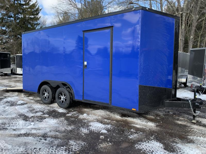 "2020 Spartan 8.5X16 +2ft V trailer/12"" extra height/16oc"