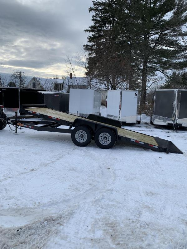 2019 D2E 7x20 Gravity tilt 14,000 gvwr trailer/w. dexter axles