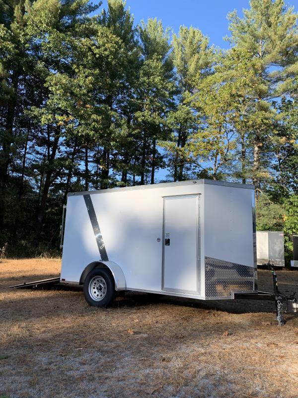 SALE 2020 Spartan 5x10 2ft v-nose Enclosed Trailer/ramp door