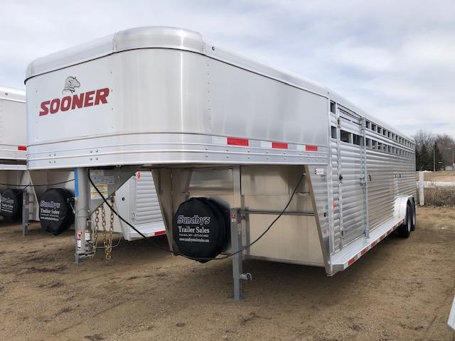 2019 Sooner 7628 Livestock Trailer