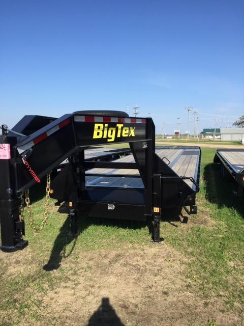 2019 Big Tex Trailers 22GN-28BK5MR Flatbed Trailer