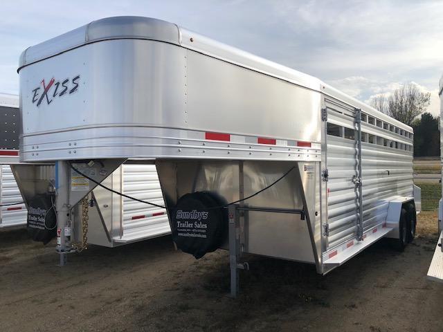 2019 Exiss 7020 Horse Trailer