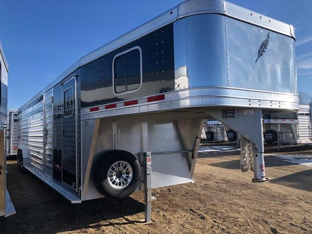 2019 Featherlite 8413 Livestock Trailer