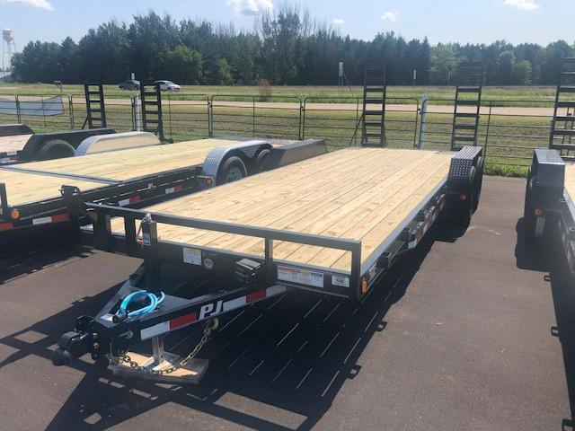 2020 PJ Trailers 22 Flatbed Trailer