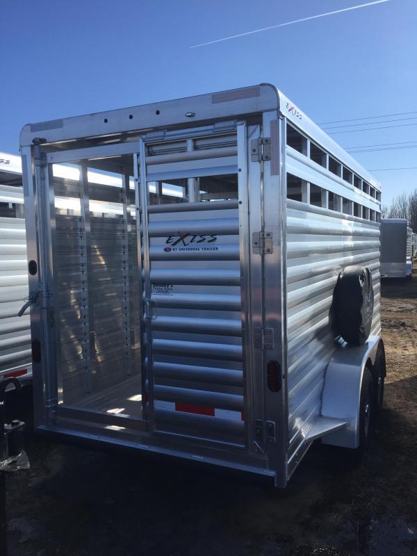 2020 Exiss Trailers EXP STK 616BP Livestock Trailer