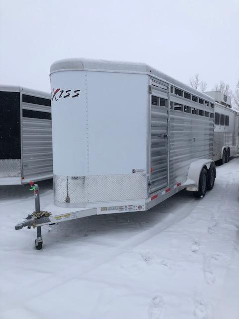 2020 Exiss Trailers EXP STK 616BP Livestock Trailer