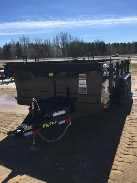 2019 Big Tex Trailers 14LX-16BK7SIRPD Dump Trailer