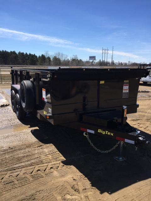 2019 Big Tex Trailers 14LX-16BK7SIRPD Dump Trailer