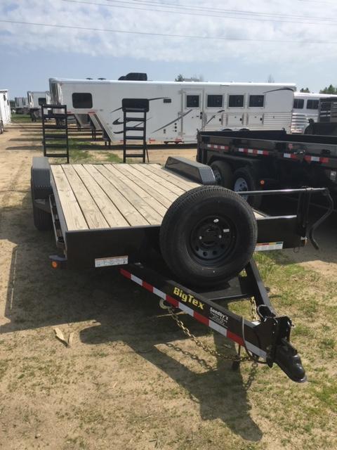 2019 Big Tex 18' Flatbed Trailer