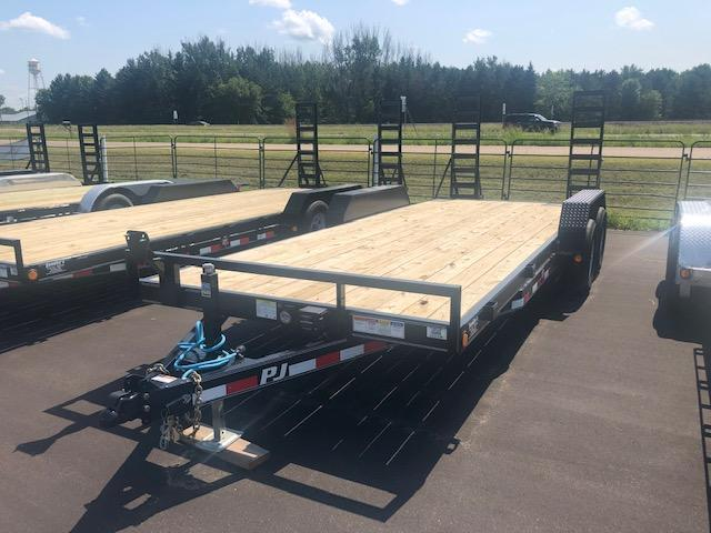 2020 PJ Trailers 20 Flatbed Trailer