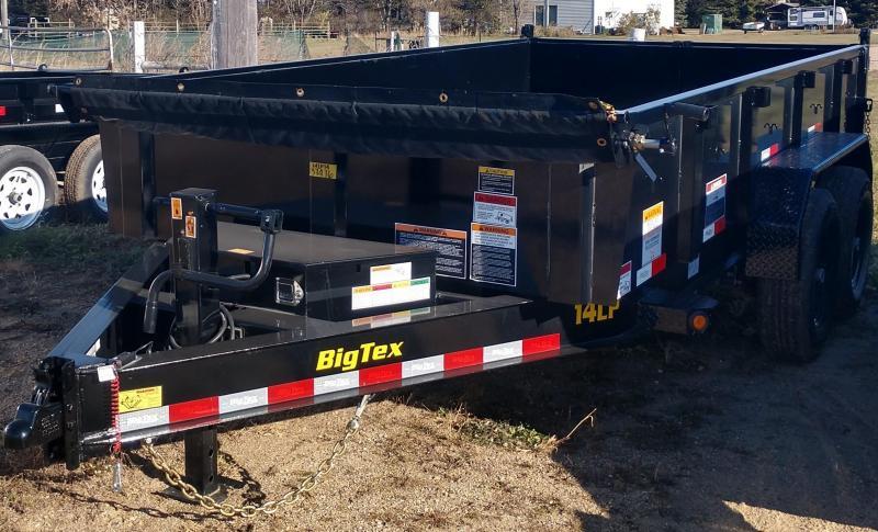 2020 Big Tex 7 X 14' GOOSENECK Dump Trailer