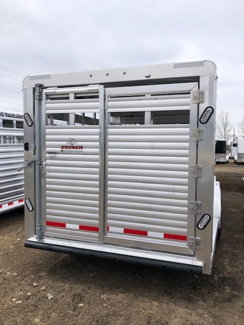 2019 Sooner 7626 Livestock Trailer