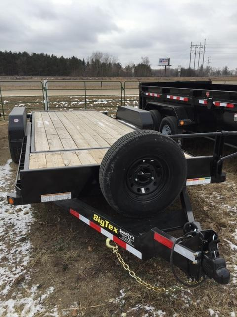 2019 Big Tex 20' Flatbed Trailer