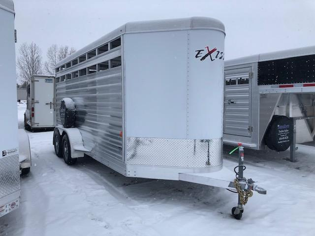 2020 Exiss Trailers STOCK Livestock Trailer