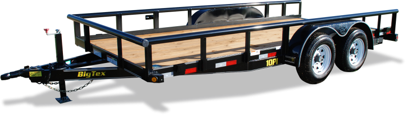 2020 Big Tex Trailers 10PI-18 Equipment Trailer