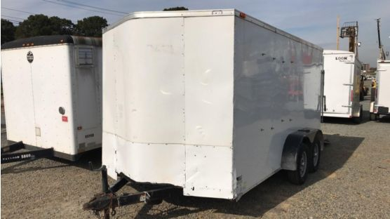 2020 Forest River GANS714TA2 Enclosed Cargo Trailer