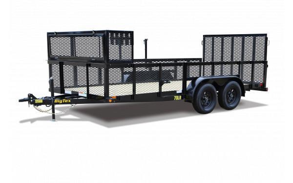 2020 Big Tex Trailers 10LR-16BK Utility Trailer
