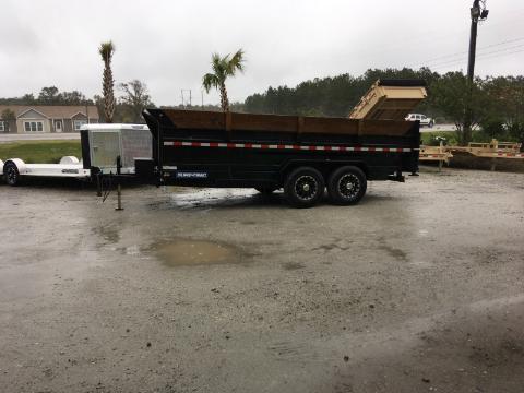 2018 Sure-Trac 16' DUMP Dump Trailer