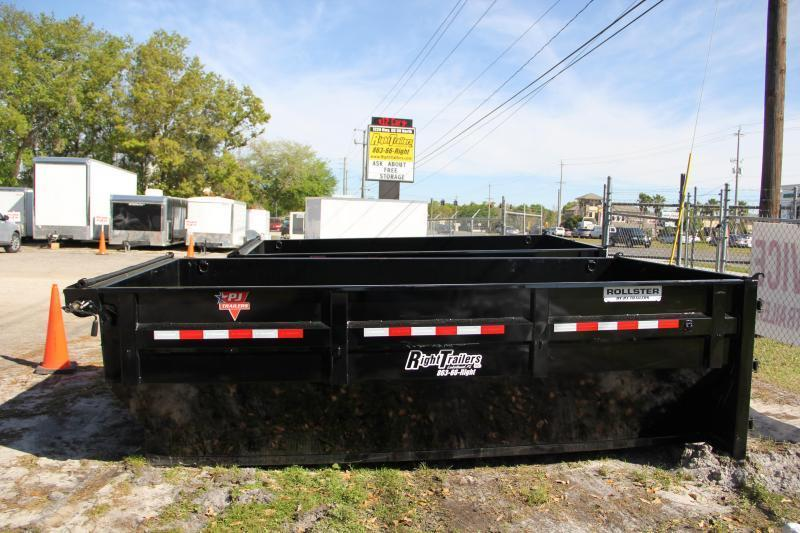 2020 PJ Trailers DUMP BIN Dump Trailer