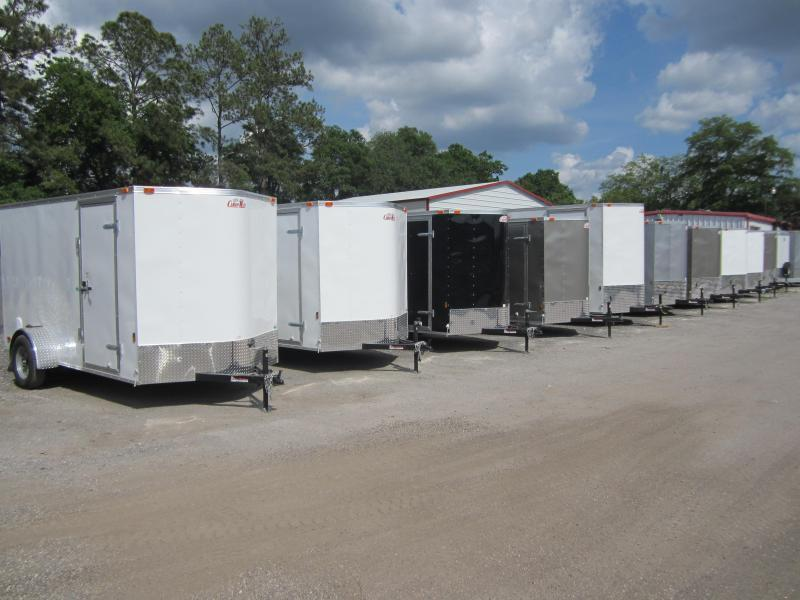 2020 Forest River GANS610SA Enclosed Cargo Trailer