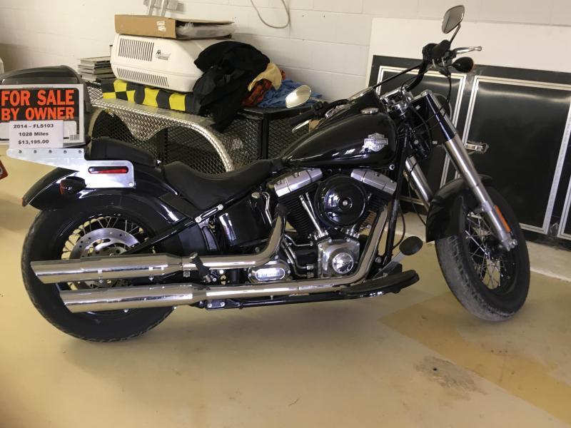 2014 Harley Davidson FLS103 Motorcycle
