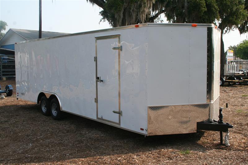 2020 Forest River GANS8.524TA3 Enclosed Cargo Trailer