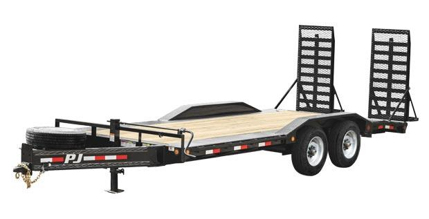 "2020 PJ Trailers 10"" Pro-Beam Super-Wide Equip (H7) Equipment Trailer"