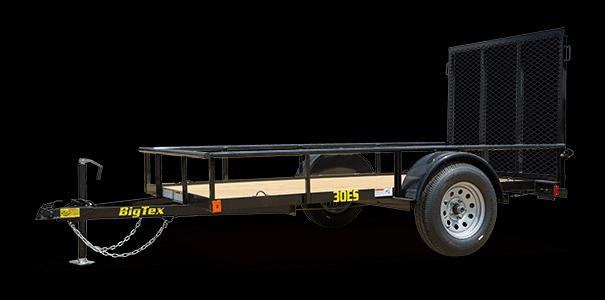 2019 Big Tex Trailers 30ES-10BK4RG Utility Trailer
