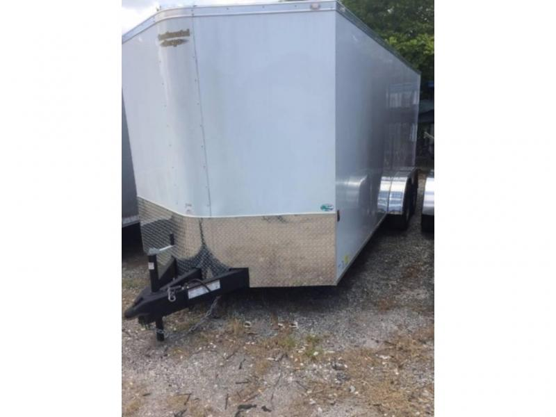 2020 Forest River GANS716TA2 Enclosed Cargo Trailer