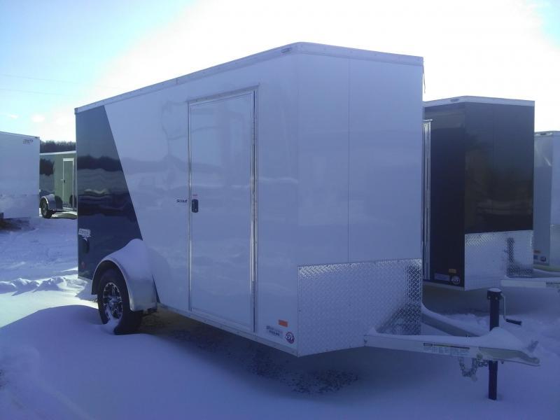 2019 Bravo Trailers Aluminum Scout Enclosed Cargo Trailer