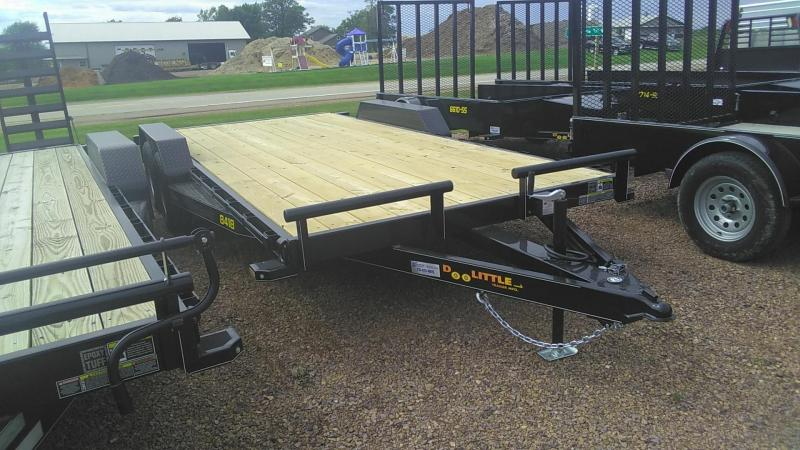 2020 Doolittle Trailer Mfg Xtreme 84' Wide 7K 18' Equipment Trailer