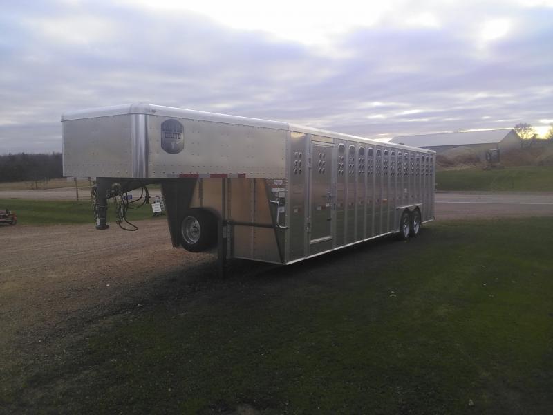 2020 Merrit Trailers 8x28 CATTLE TRAILER Livestock Trailer