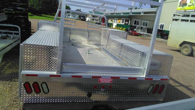 2019 Zimmerman 94x114 Advantage service body Truck Bed