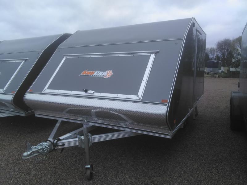 2020 Snopro 101X 12 HYBRID Snowmobile Trailer