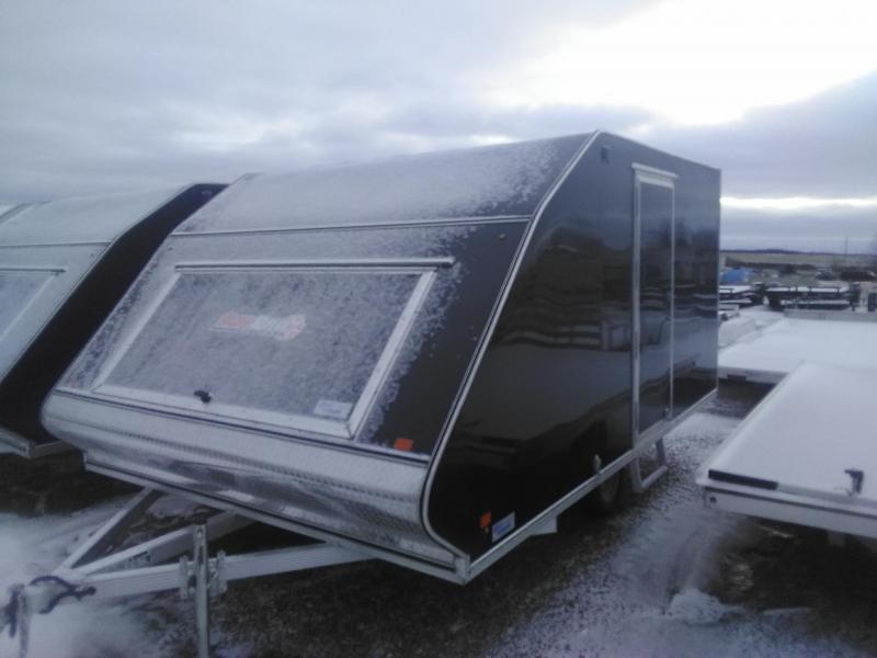 2019 Snopro 101 x 12 Hybrid Snowmobile Trailer