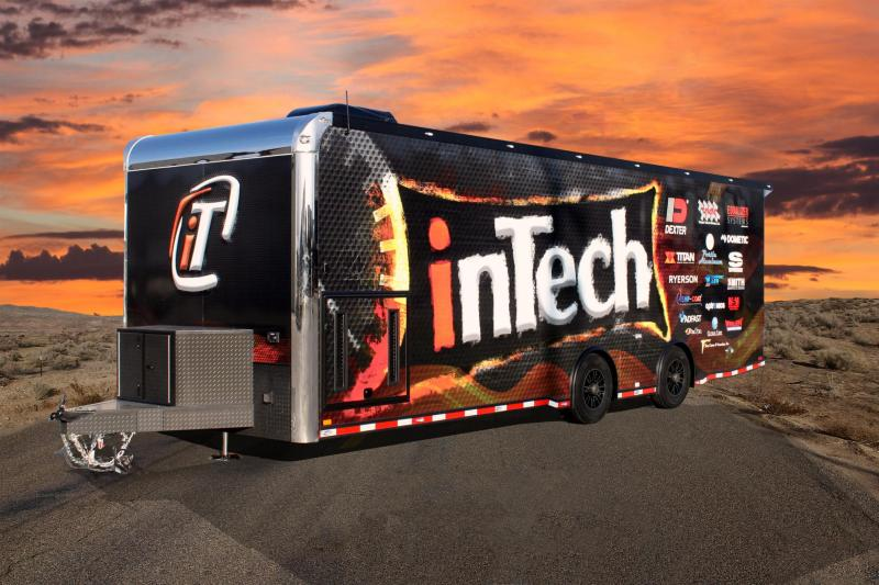 2017 inTech 28' Max the Tach Special  Car / Racing Trailer