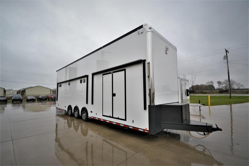 2018 inTech 34' All Aluminum Stacker Trailer