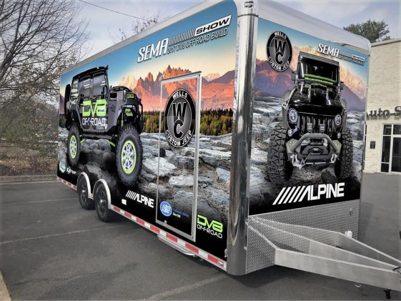 2018 inTech Trailers 24' Icon Jeep / Off-Road Hauler