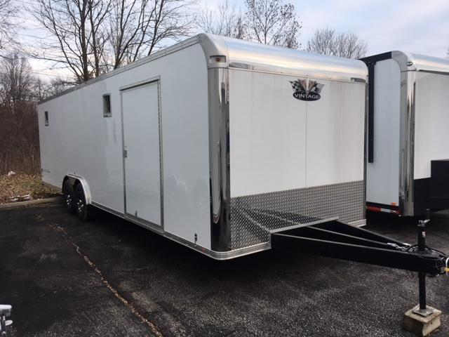 2019 Vintage Trailers 28 Outlaw Car / Racing Trailer