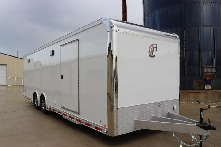 2019 28' inTech All Aluminum Race Trailer with ICON Package