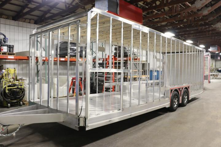 2020 28' inTech All Aluminum Race Trailer with ICON Package