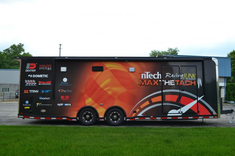 2019 inTech Trailers 28 Icon Factory Sponsorship Trailer Car / Racing Trailer