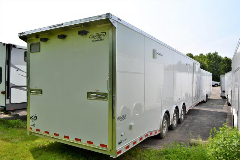 2020 Bravo 32' Auto Performance All Aluminum Race Car Trailer