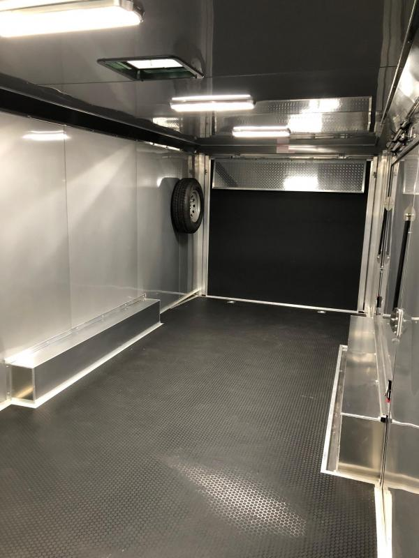 2019 Bravo Trailers Aluminum auto performance 24 Car / Racing Trailer