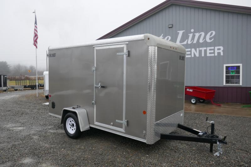2020 Car Mate Trailers CM612CC -6'W Single Axle Custom Cargo Trailer Enclosed Cargo Trailer