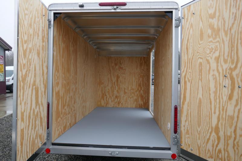 2020 Car Mate Trailers CM612CC -6'W Single Axle Custom Cargo Trailer Enclosed Cargo Trailer