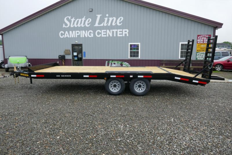 2019 Pequea  Deck Over 20' Equipment Trailer