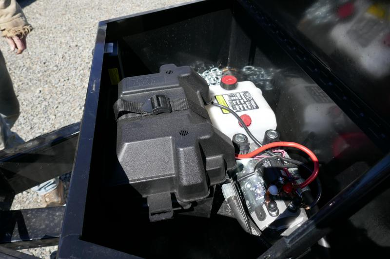 2019 Car Mate Trailers CM610D-HD Deck Over Wheel (DOW) Dump Trailer